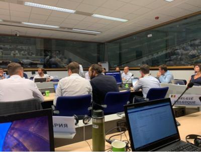 Pracovní skupina EK v Bruselu