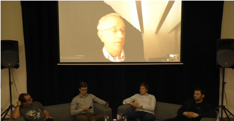 Altlift diskuze se Stevem Keenem