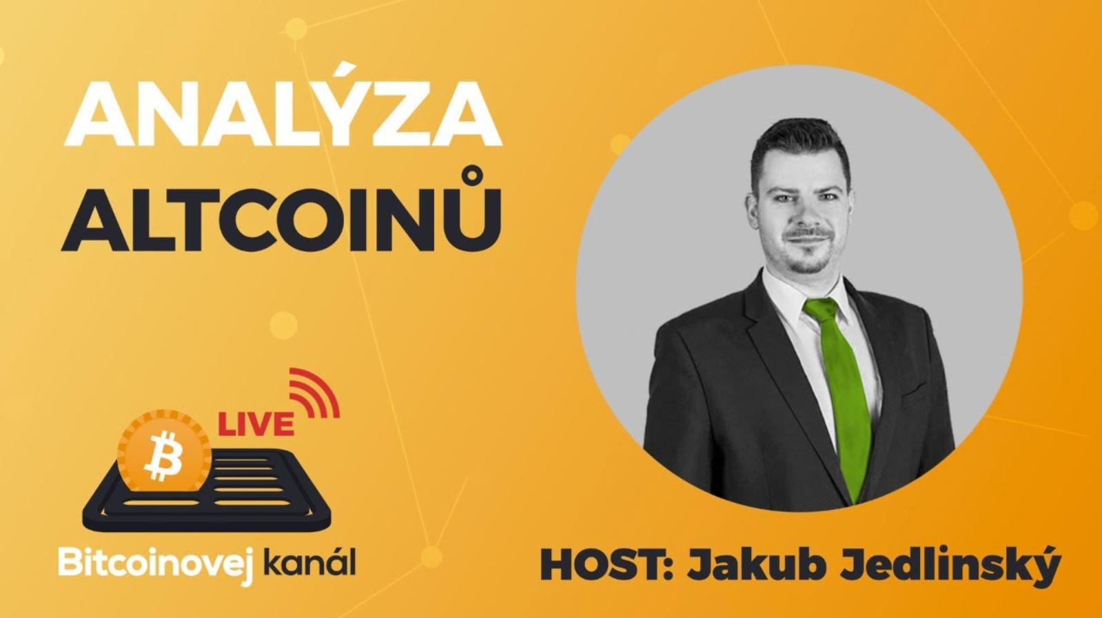Jakub Jedlinský pro Bitcoinovej kanál